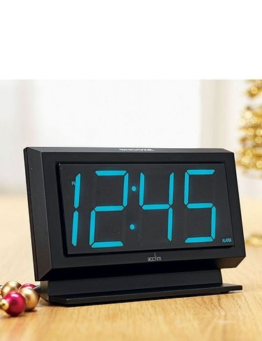 LED Alarm Clock with Big Numbers