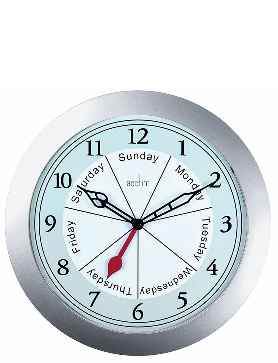 Day Of The Week Wall Clock Home Clocks