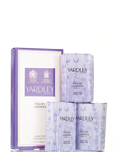 Yardley Lavender Soap Gift Set