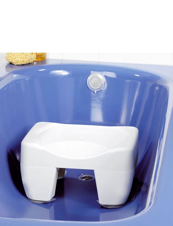 2 In 1 Bath Tub Seat Shortener Mobility Bathroom