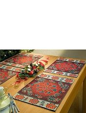 Poinsetta Placemats