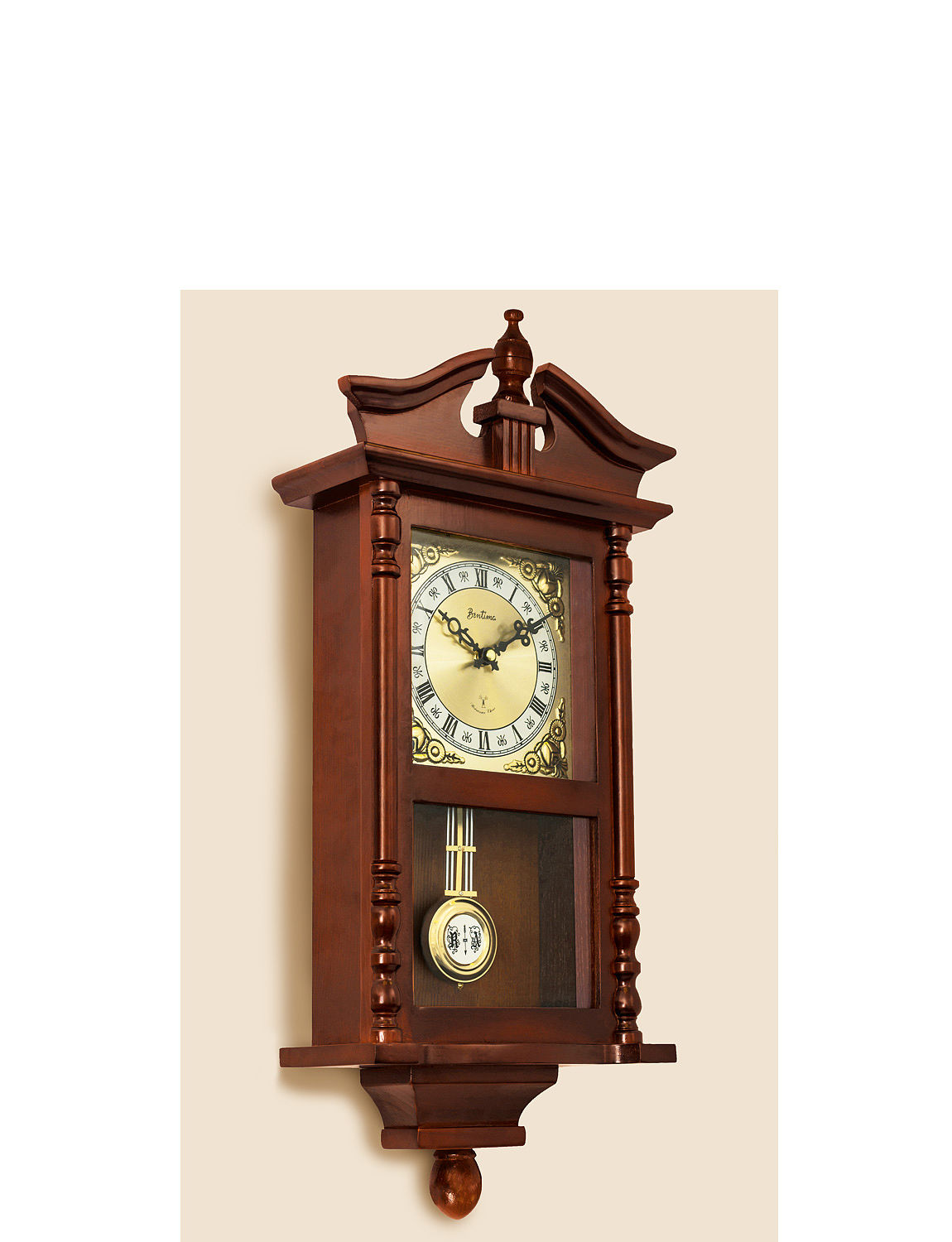 Westbury Radio Controlled Pendulum Clock Home Clocks