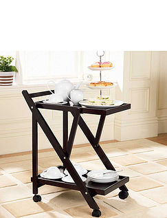 Two-Tier Butler Trolley