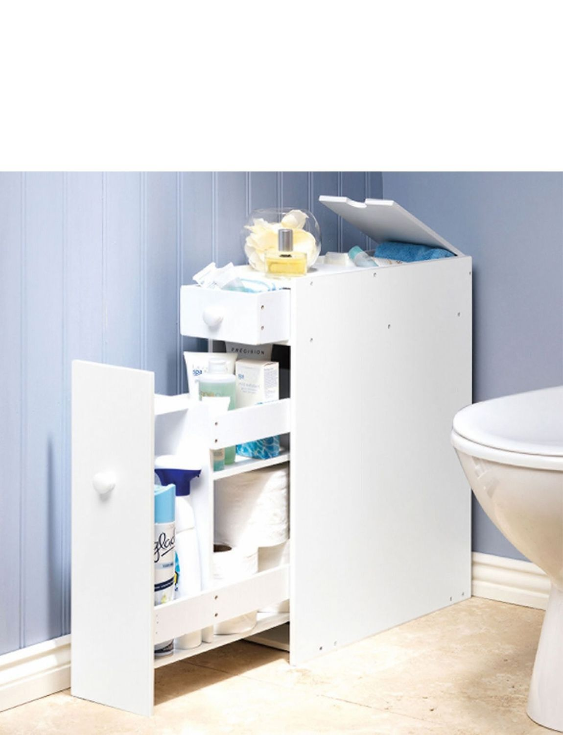 Bathroom Organiser slim-line bathroom organiser - home bathroom