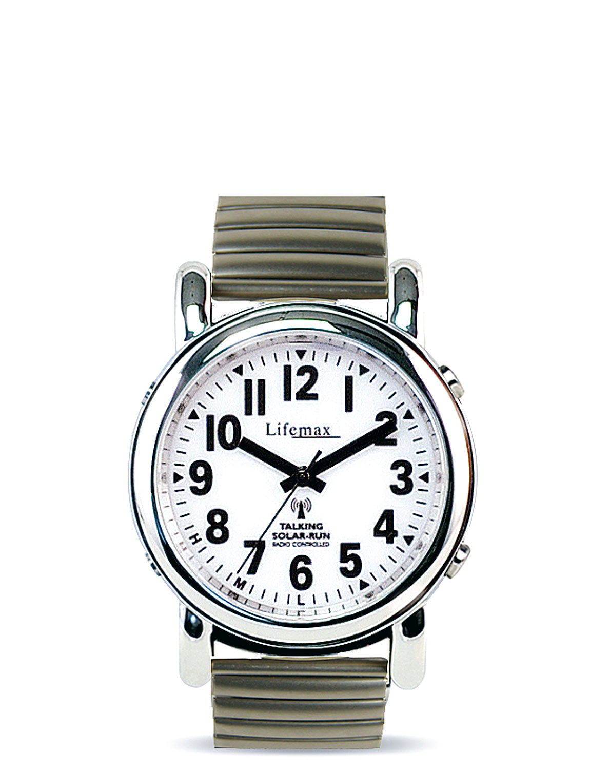 Atomic Talking Watch With Expander Strap Lifestyle