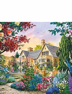 Gibsons Set Of 4 Flora And Fauna Jigsaw Puzzles