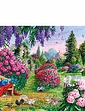 Gibsons Boxed Set Of 4 x 500PC Puzzels-Flora & Fauna