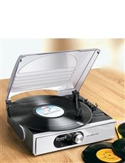 Compact Record Player