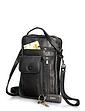 Leather Travel Wallet Bag