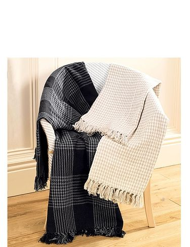 Dogtooth Blanket/Throw