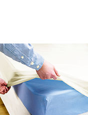 Waterproof Flannelete Mattress Protector