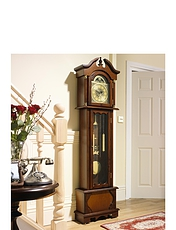 Radio Controlled Bentima Old Father Time Grandfather Clock