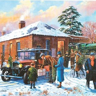Classic Transport Boxed Set Of 4 x 500pc Jigsaw