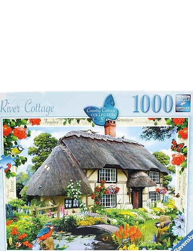 River Cottage New 1000pcs Jigsaw Puzzles