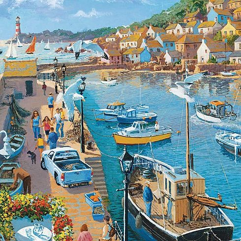 Safe Hevaen  New 1000pcs Jigsaw Puzzles