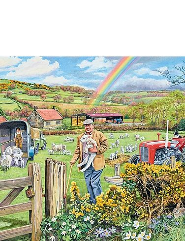 The Farmer 500Pc Jigsaw Puzzle