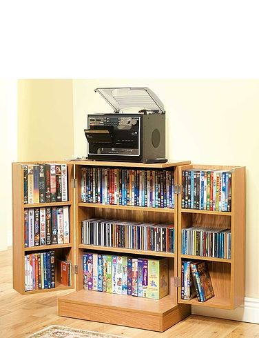 Standard Free Standing Media Storage Cabinet/ TV Stand