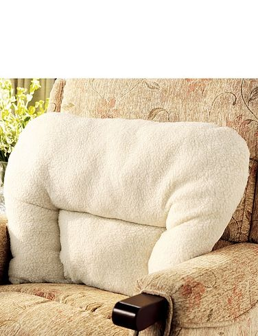Sherpa Fleece Support Cushion