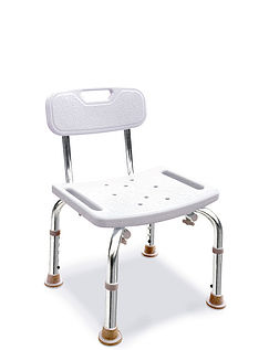 Sturdy Shower/ Bath Seat With Back Rest