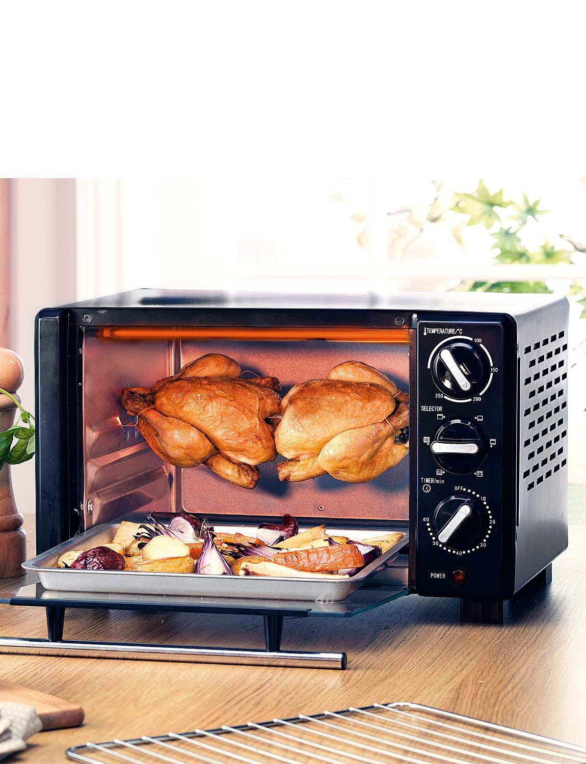 table top mini oven   with rotisserie   home