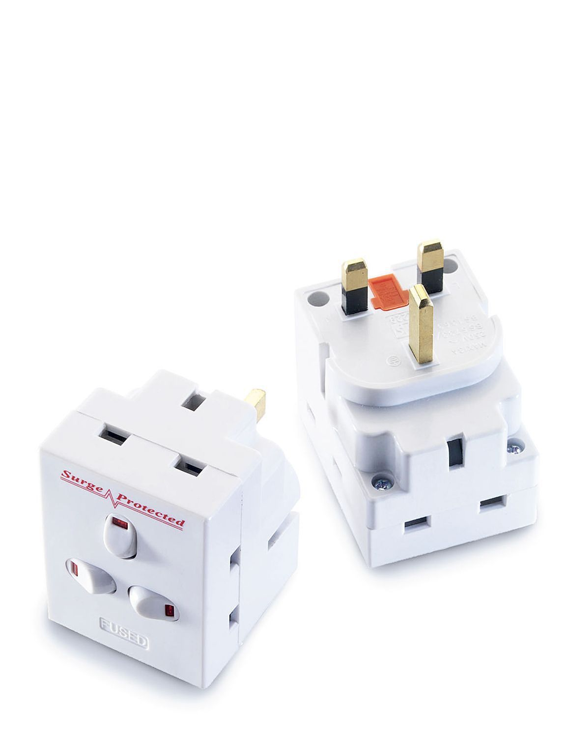 Surge protection adaptor multi plug chums for Homeware accessories