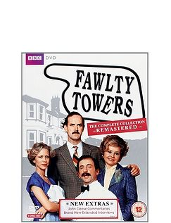 Fawity Towers Complete DVD Remastered Box Set