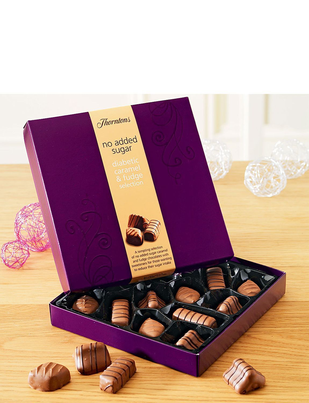 Thorntons Diabetic Caramel Fudge Selection Lifestyle