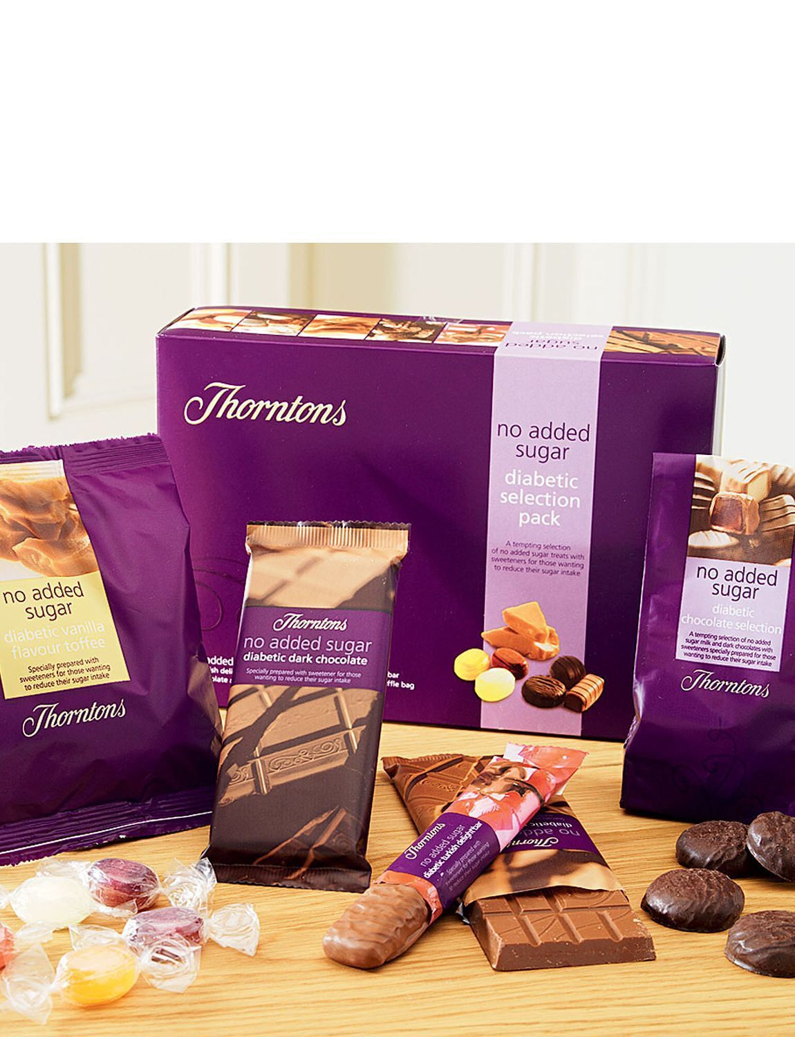 Thorntons Diabetic Selection Box Pack Lifestyle General