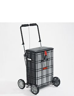 Shop A Seat four Wheel Trolley