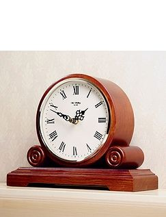 Round Mantel Clock