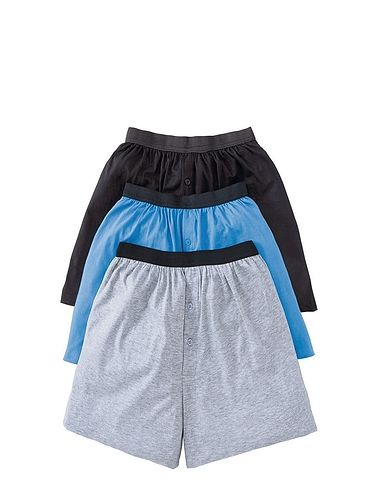 Knitted Boxer Short Pack of 3