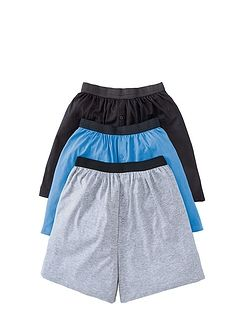 3 Pack Knitted Boxer Short
