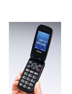 Commitment Free Big Button Clamshell Mobile Phone