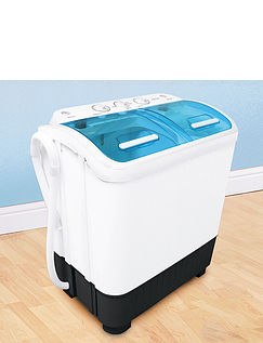 Compact Semi- Automatic Twin Tub Washing Machine