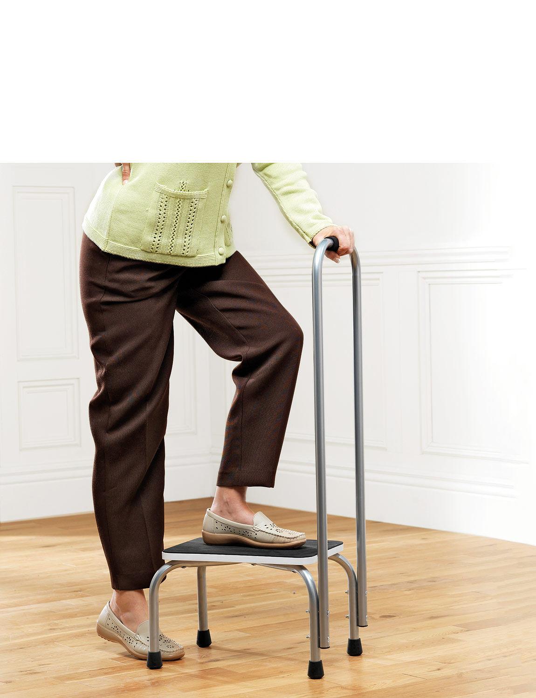 Sensational Step Stool With Hand Rail Save 5 Dailytribune Chair Design For Home Dailytribuneorg