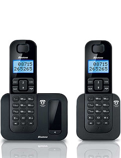 Digital Cordless Twin Telephone with Answering Machine