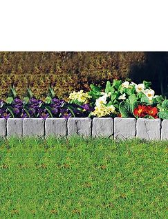 Stone Effect Edging Pack Of 3