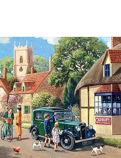 Out and About - Gibsons Boxed Set Jigsaw