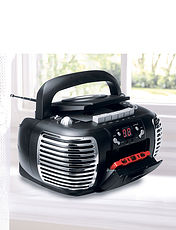 3- In- 1 Radio/ Cassette/ CD Player
