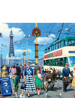 Happy Days – Blackpool Jigsaw Puzzle