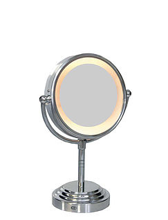 Dual Sided Light-Up Mirror