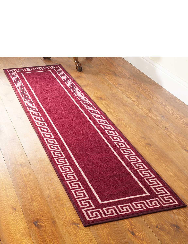 Greek Key Runner Free Doormat Chums