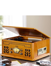 Antique 4-in-1 Music Player