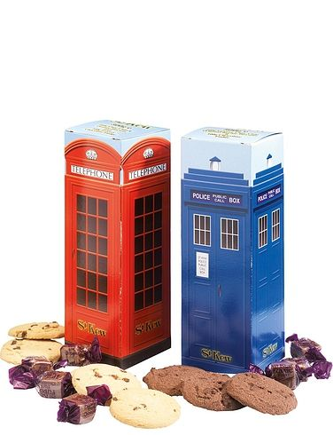 St Kew Police & Telephone Box Biscuits