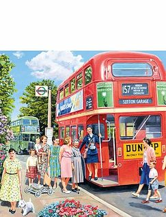 The Bus Conductor 500Pc Jigsaw Puzzle