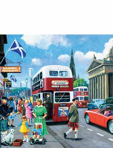 Happy Days – Edinburgh Jigsaw Puzzle
