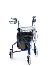 Deluxe Indoor/Outdoor Tri-Wheel Walker
