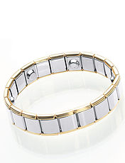 Two-Tone Hi-Power Magnetic Bracelet