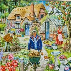 In The Garden 1000pcs Jigsaw Mc248
