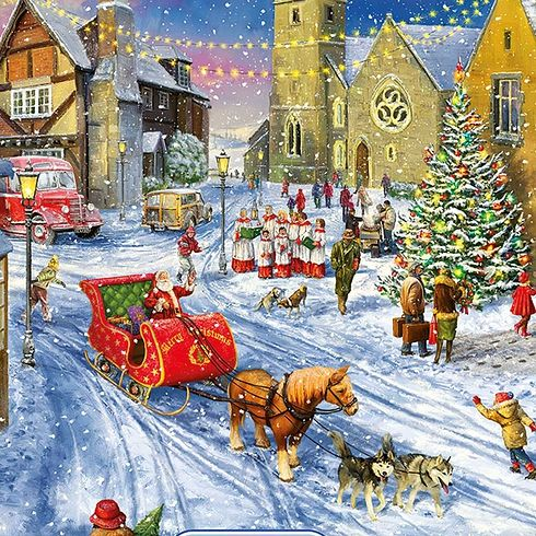 It''s Christmas Limited Edition 1000pcs Jigsaw G2015